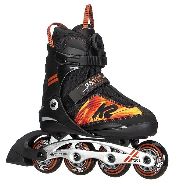 K2 SK8 Hero BOA Adjustable Kids Inline Skates, , 600
