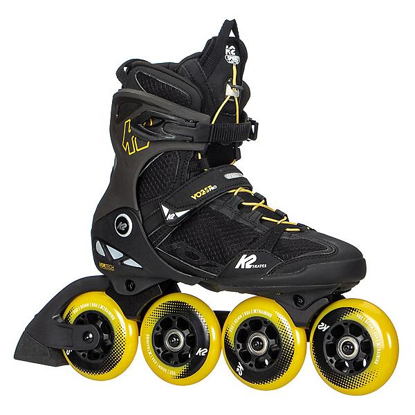 K2 VO2 S 90 Inline Skates, Black-Yellow, 600