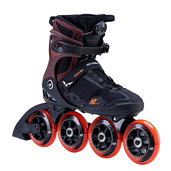 K2 VO2 S 100 BOA Inline Skates, Black-Orange-Red, 600