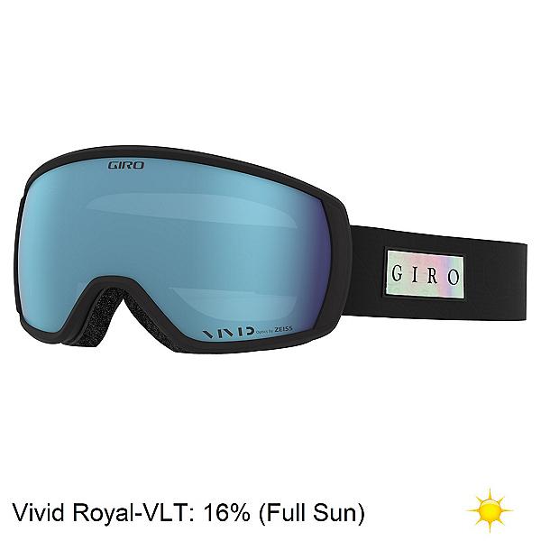 Giro Facet Womens Goggles, Black Iridescent-Vivid Royal, 600