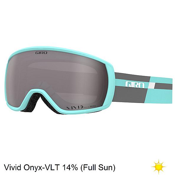 Giro Facet Womens Goggles, Cool Breeze Charcoal Podium-Vi, 600