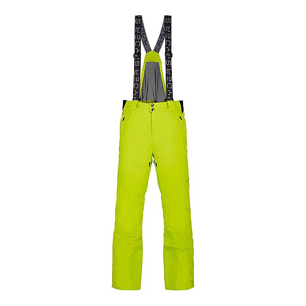 Spyder Bormio GTX Mens Ski Pants, Sharp Lime, 600