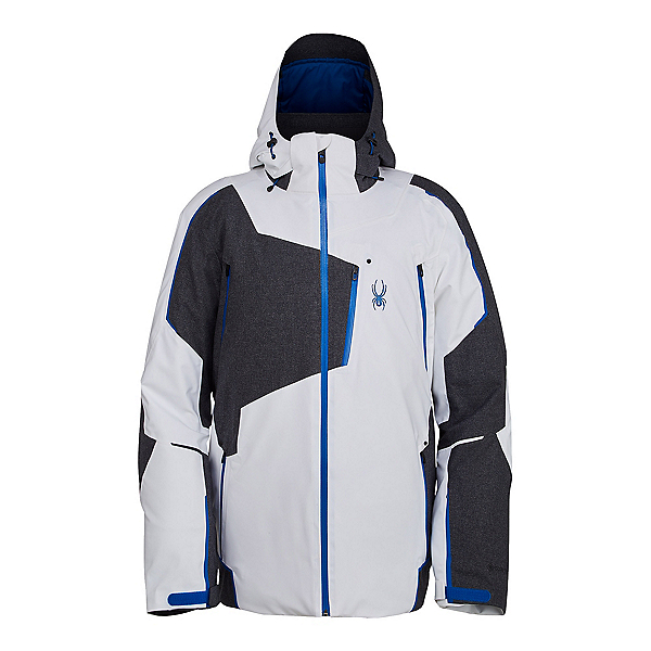Spyder Leader GTX LE Mens Insulated Ski Jacket, White, 600