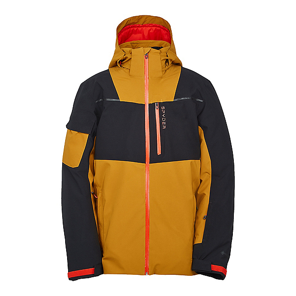 Spyder Chambers GTX Mens Insulated Ski Jacket, Toasted, 600