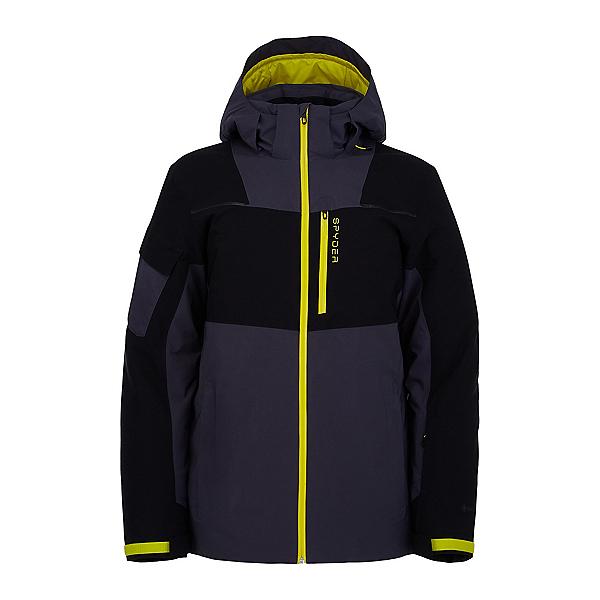 Spyder Chambers GTX Mens Insulated Ski Jacket 2022, Blk Eby, 600