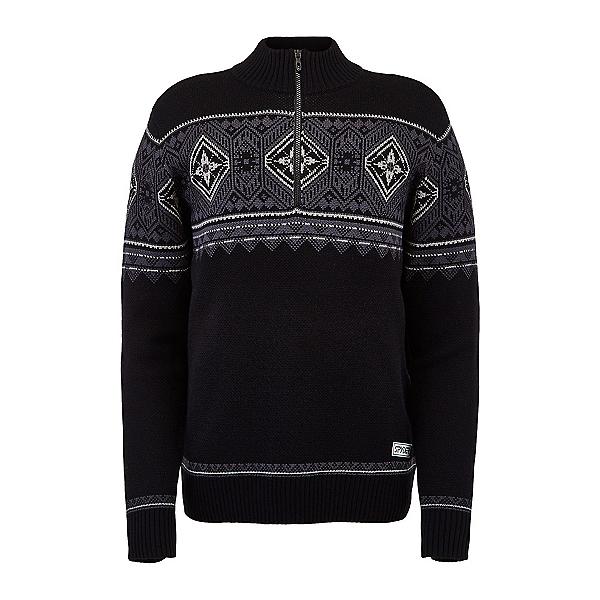 Spyder Arc Half Zip Mens Sweater, Black, 600