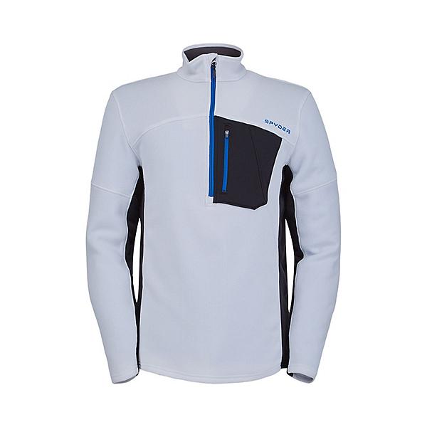 Spyder Bandit Half Zip Mens Sweater, White, 600