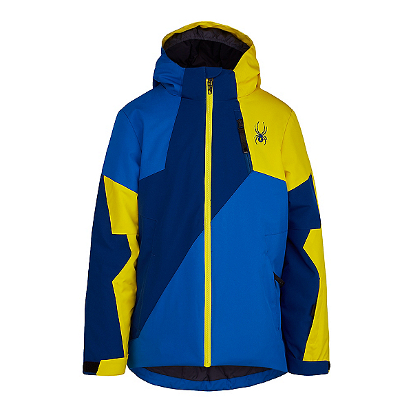 Spyder Ambush Boys Ski Jacket, Old Glory-Abyss, 600