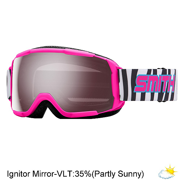 Smith Grom Kids Goggles, Pink Archive-Ignitor Mirror, 600