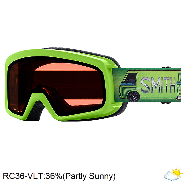 Smith Rascal Jr. Kids Goggles, Limelight Van Life-Rc36, 600