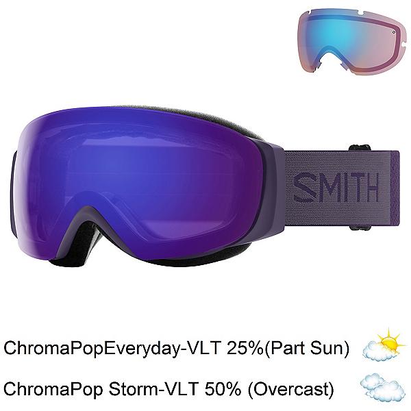 Smith I/O Mag S Womens Goggles, Violet-Chromapop Everyday Viol + Bonus Lens, 600