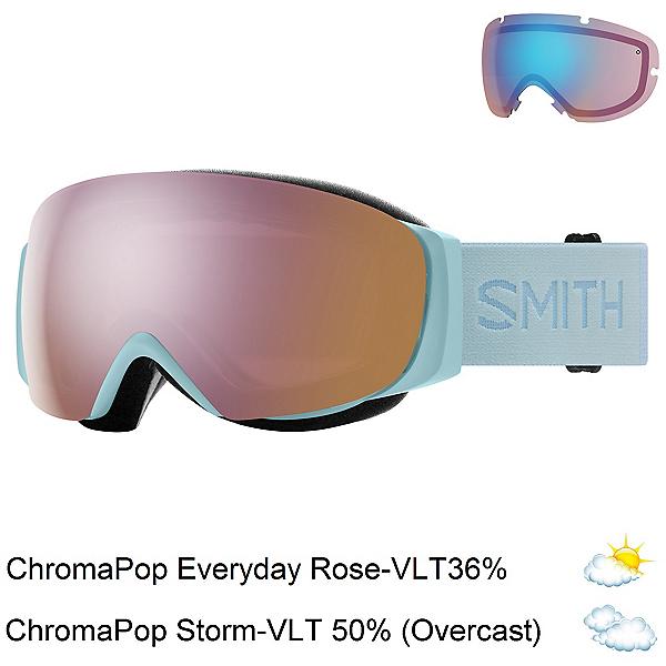 Smith I/O Mag S Womens Goggles, Polar Blue-Chromapop Everyday + Bonus Lens, 600