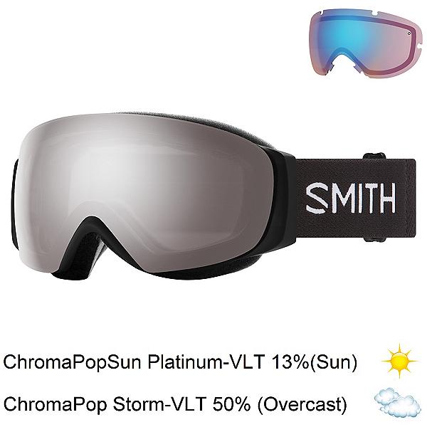 Smith I/O Mag S Womens Goggles 2022, Black-Chromapop Sun Platinum M + Bonus Lens, 600