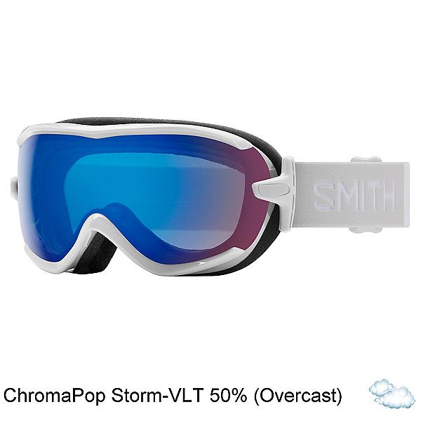 Smith Virtue Womens Goggles, White Vapor-Chromapop Storm Ro, 600
