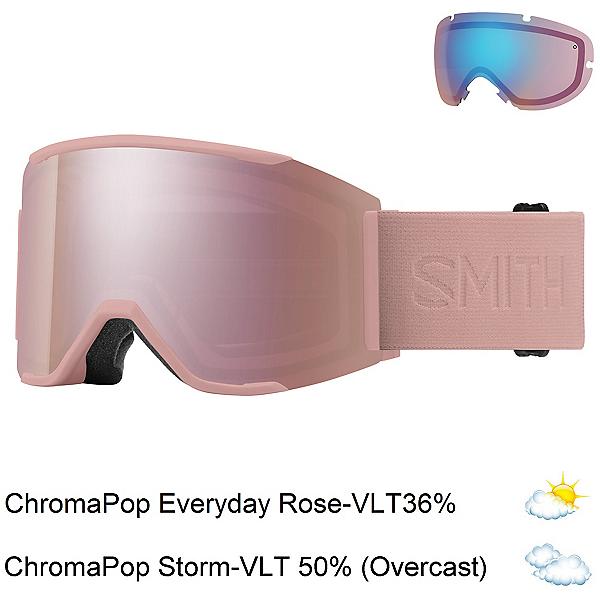 Smith Squad Mag Goggles, Rock Salt Flood-Chromapop Ever + Bonus Lens, 600