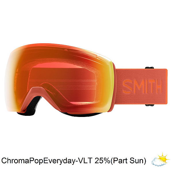 Smith Skyline XL Goggles, Burnt Orange-Chromapop Everyda, 600