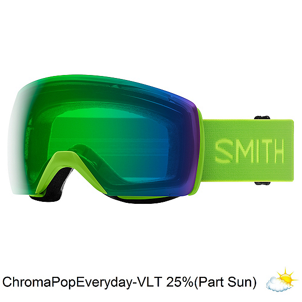 Smith Skyline XL Goggles, Limelight-Chromapop Everyday G, 600