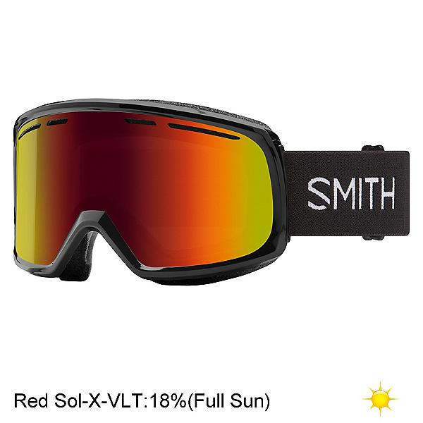 Smith Range Goggles 2022, Black-Red Sol X Mirror, 600