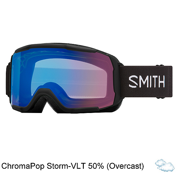 Smith Showcase OTG, Black-Chromapop Storm Rose Fla, 600