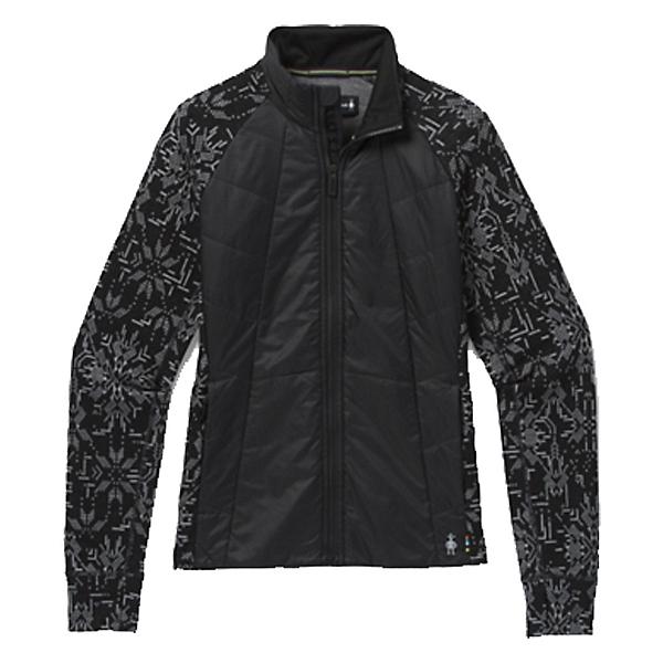 SmartWool Smartloft 60 Womens Jacket, Black Digital Snowflake, 600