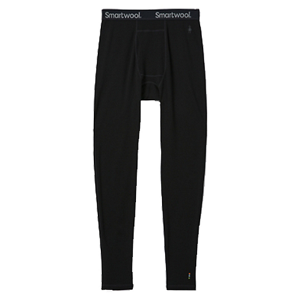 SmartWool Merino 250 Baselayer Mens Long Underwear Pants, Black, 600