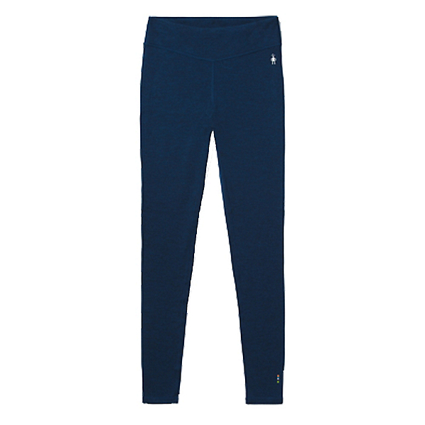 SmartWool Merino 250 Baselayer Bottom Womens Long Underwear Pants, Alpine Blue Heather, 600