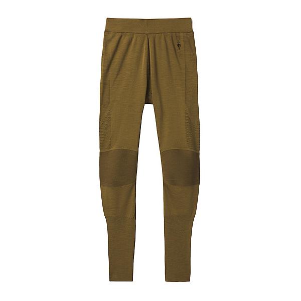 SmartWool Merino Intraknit Merino 200 Mens Long Underwear Pants, Military Olive-Black, 600
