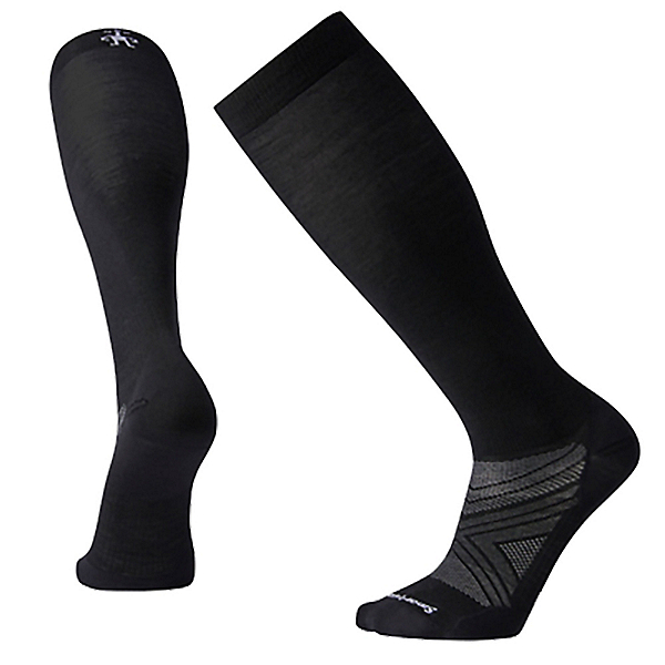 SmartWool PhD Ski Ultra Light Ski Socks 2022, Black, 600
