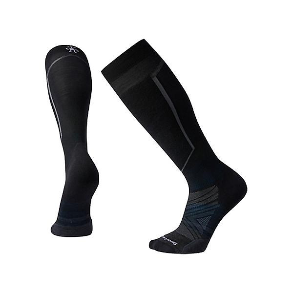SmartWool PhD Ski Light Elite Ski Socks, Black, 600
