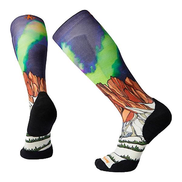 SmartWool PhD Ski Light Elite Homechetler Print Ski Socks, Multi, 600