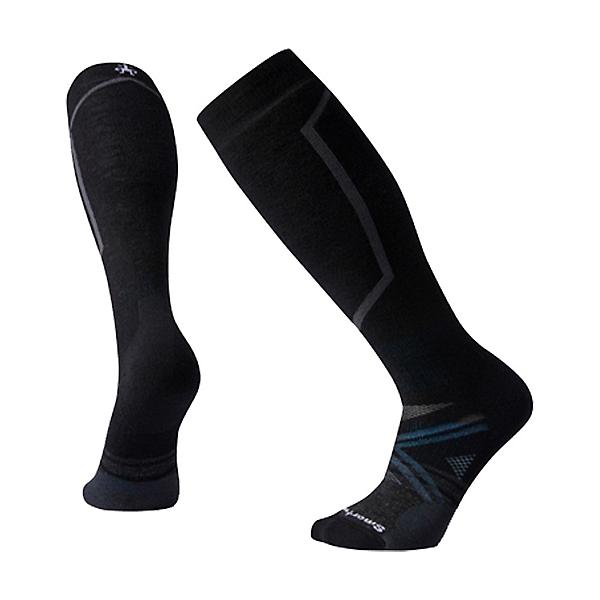 SmartWool PhD Ski Medium Ski Socks, Black, 600