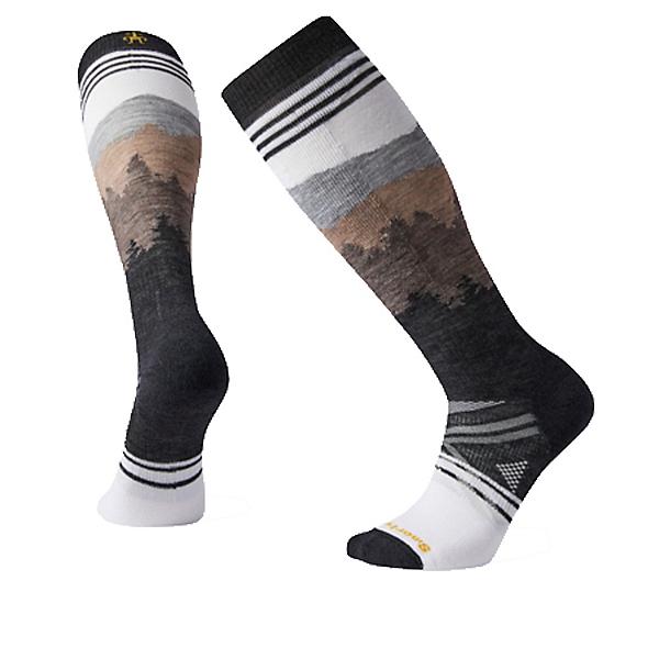 SmartWool PhD Ski Medium Alpenglow Ski Socks 2022, White, 600