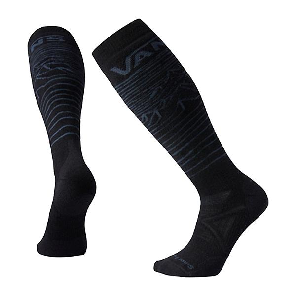 SmartWool PhD Snow VANS Bryan Iguchi Medium Snowboard Socks, Black, 600