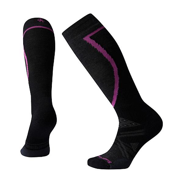 SmartWool PhD Ski Medium Womens Ski Socks, Black, 600
