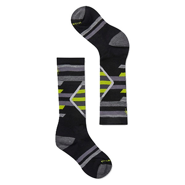 SmartWool Ski Racer Kids Socks, Black, 600