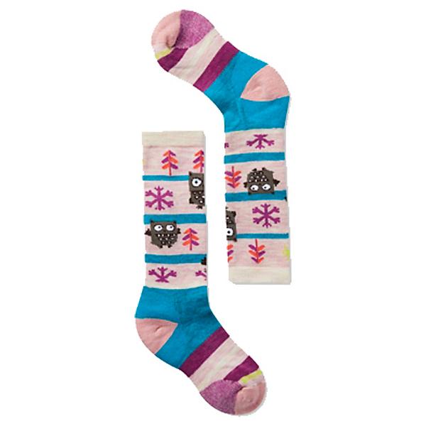 SmartWool Wintersport Owl Kids Ski Socks, Capri, 600