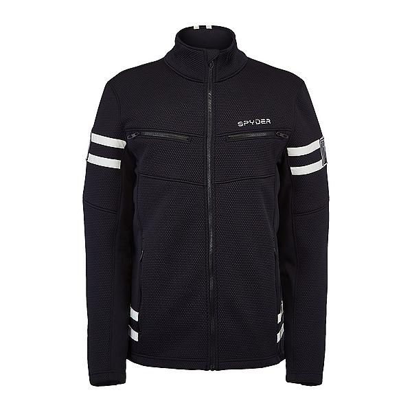 Spyder Wengen Encore Full Zip Mens Jacket 2022, Black, 600