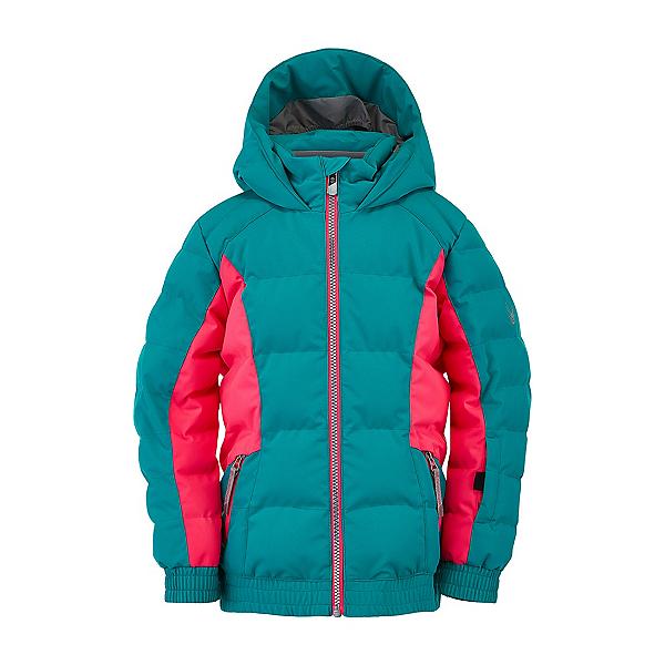 Spyder Bitsy Atlas Synthetic Toddler Girls Ski Jacket, Scuba, 600