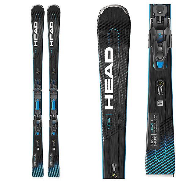 Head Supershape e-Titan SW Skis with PRD 12 GW Bindings, , 600