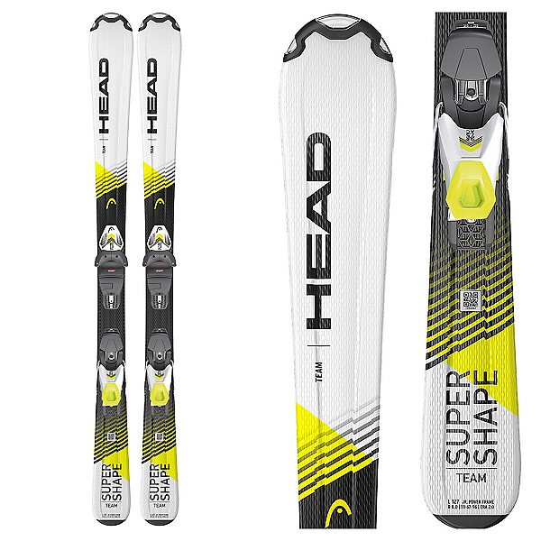 Head Supershape Team Kids Skis with SLR JR. Binding, , 600