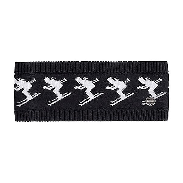 NILS Skier 2 Knit Womens Headband, Black, 600