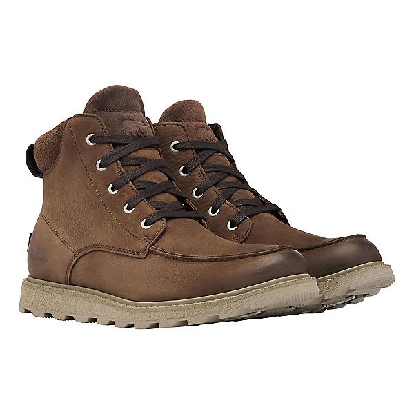 Sorel Madson II Moc Toe WP Mens Boots, Tobacco, 600