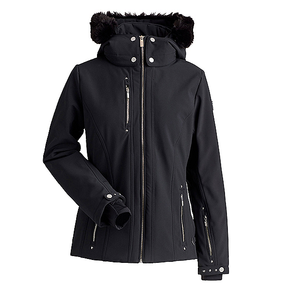 NILS CossetteX Faux Fur Womens Insulated Ski Jacket, , 600
