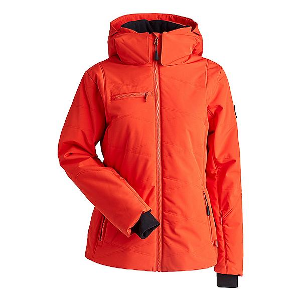 NILS Sasha Womens Insulated Ski Jacket, Orange-Orange, 600