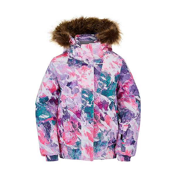 Spyder Bitsy Lola Toddler Girls Ski Jacket, Downhill Dots Print, 600