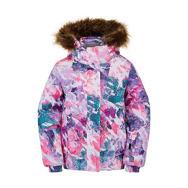 Spyder Bitsy Lola Toddler Girls Ski Jacket, Downhill Dots Print, 600