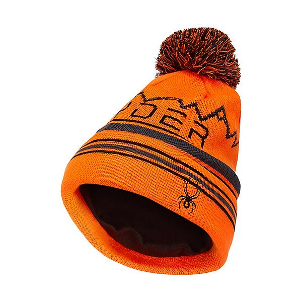 Spyder Icebox Kids Hat 2021, Bryte Orange, 600