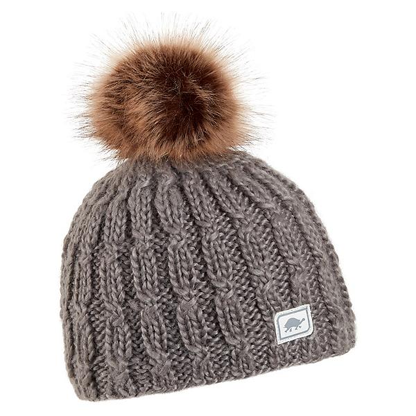 Turtle Fur Merino Wool Fifi Womens Hat, Gray, 600