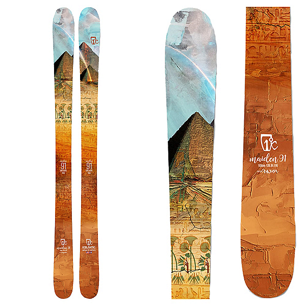 Icelantic Maiden 91 Womens Skis, , 600