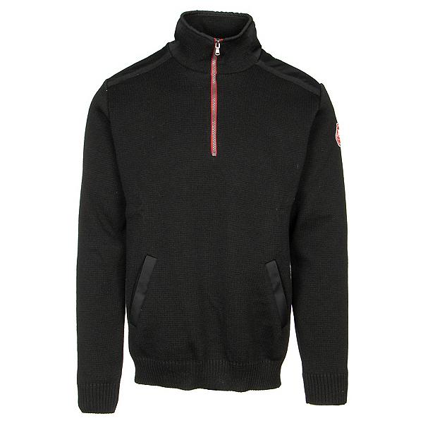 HOLEBROOK Gregor 1/4 Zip WP Mens Sweater, Black, 600